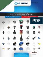 Cat Apem Ermec Nuevo Catalogo General de Pulsadores Interruptores Apem Big Blue 2011 12