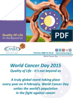 Wcd 2015 Cansa Care Centres