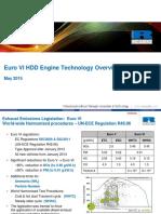 HD ENGINE Euro VI Technology RoadMap
