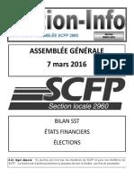 Journal Assemblée Générale Mars 2016