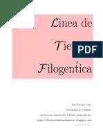 Teoria y linea de tiempo filogenetica