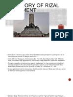 The Story of Rizal Monument JR BALIGOD