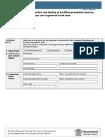 Form9—ReportOnInspectionAndTestingOfBackflowPreventionDevicesRegisteredAirGapsAndRegisteredBreakTanks