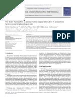 Triple P vs Conventional in Placenta Percreta