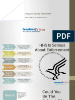 HIPAA EnforHIPAA Privacy and Security Enforcement cement Examples