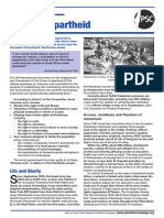 Apartheid Factsheet Jan 2012