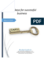 Key of Success Businees Adapted for Secular Company
