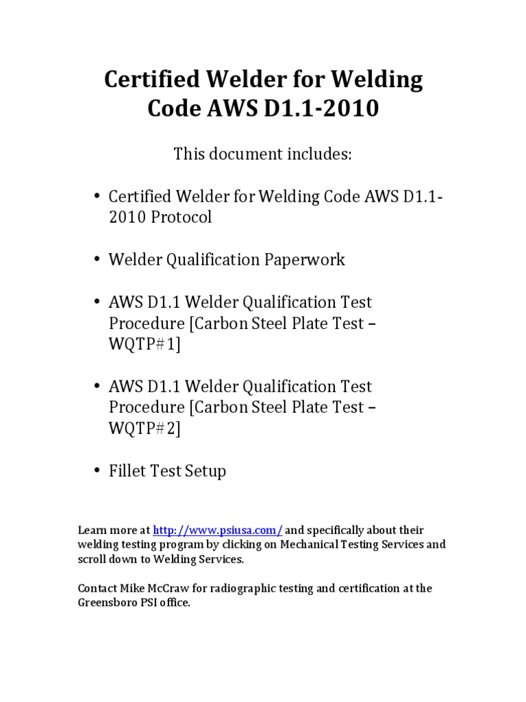 05 Welder Certificationpdf Welding Steel