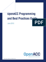OpenACC Programming Guide 0