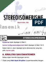 Stereoisomerisme
