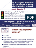 Introducing SigmaXL Version 7 - Aug 13 2014
