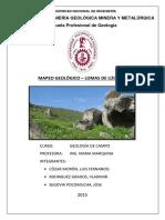 Lomas de Lucumo - Geología de Campo