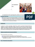 Secuencia Didc3a1ctica Construcic3b3n de Ciudadanc3ada
