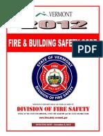 Vermont Firecode 2012