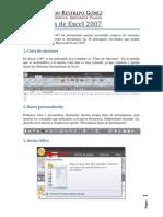 Novedades de Excel 2007