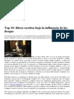 Top 10_ Libros Escritos Bajo La Influencia de Las Drogas _ Pijamasurf