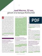 2010 Emmanuel Macron Science Po