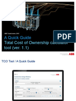 A Quick Guide Tco Tool 1 1
