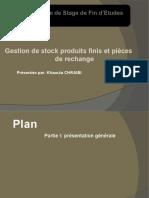 Présentation Gestion de Stock Khaoula