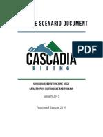 Cascadia Rising Exercise Scenario