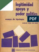 Real - Legitimidad Apoyo y Poder Politico