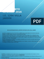 Reglamento Interno- 2016