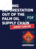 Greenpeace palm oil scorecard