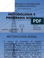 Metodologia e Programa Nodal