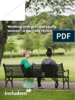 Thematic Review - Working With Girls and Young Women