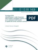 Tecnologia RFId (identificazione a radio frequenza) nelle strutture ospedaliere