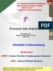 Paparan Musrenbang Sulsel Kab-kota 2016
