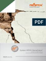 Рофикс - Систем За Санација На Масивен Ѕид