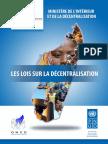 Recueil Textes Décentralisation FR
