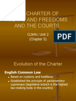 chapter 5  the charter and the courts