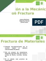 Mecánica de La Fractura