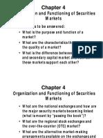 securities trade