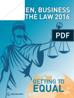 Women, Business and the Law 2016