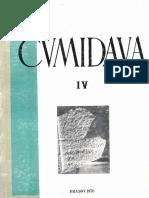 009 1 Revista Cumidava Muzeul Istorie Brasov IX 1 1976