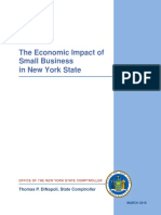 New York State Comptroller Tom DiNapoli's report