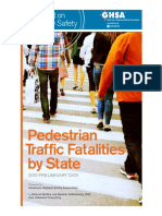 GHSA 2015 Pedestrian Spotlight Report