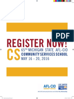 65th Michigan AFL-CIO Community Services School