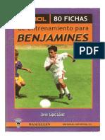 80 Fichas Entrenamiento Benjamin