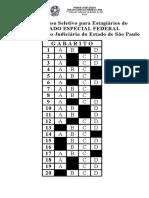 Gabarito Para Publição - Prova - Concurso 2