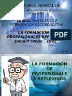 La Formación de Profesionales Reflexivos