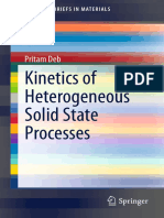 Kinetics of Solid State Process