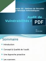 Audit de Vulnérabilités Réseau