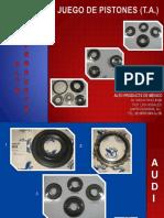 Al to Piston Kits Catalog