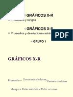 Graficas de Control X-R, X-S