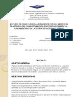 Presentacion Caso Clinico Psiquiatria