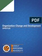 Dmgt520 Organization Change and Development